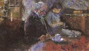 Edvard Munch Beside the table china oil painting reproduction