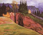 Edvard Munch Forest china oil painting reproduction