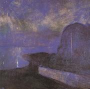 Edvard Munch Moon night china oil painting reproduction