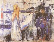 Edvard Munch Separate china oil painting reproduction
