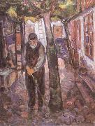 Edvard Munch Old man china oil painting reproduction