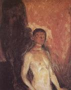 Edvard Munch Self-Portrait in the hell china oil painting reproduction