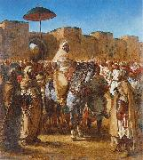 Eugene Delacroix Sultan of Morocco china oil painting reproduction
