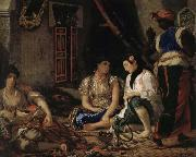 Eugene Delacroix Women of Algiers in the room china oil painting reproduction