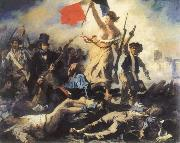 Eugene Delacroix liberty leading the people china oil painting reproduction
