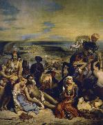 Eugene Delacroix blodbafet chios china oil painting reproduction