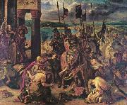 Eugene Delacroix The Entry of the Crusaders in Constantinople, china oil painting reproduction