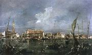 Francesco Guardi venice acrooss the basin of san marco china oil painting reproduction