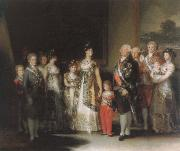 Francisco Goya family of carlos lv china oil painting reproduction