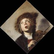 Frans Hals a boy with a violin china oil painting reproduction