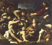 GUERCINO raising of lazarus china oil painting reproduction