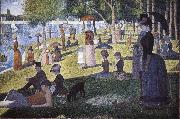Georges Seurat Island Bowl Sunday china oil painting reproduction