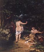 Gustave Courbet The bathers china oil painting reproduction
