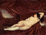 Gustave Courbet Femme nue couchee china oil painting reproduction