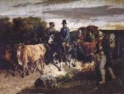 Gustave Courbet The Peasants of Flagey Returning from the Fair china oil painting reproduction