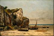 Gustave Courbet Plage de Normandie china oil painting reproduction