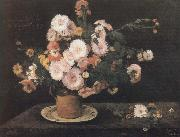 Gustave Courbet Flower china oil painting reproduction