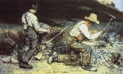 Gustave Courbet Quarrying china oil painting reproduction