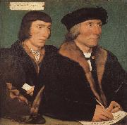 Hans Holbein Thomas and his son s portrait of John china oil painting reproduction