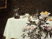 Henri Fantin-Latour Still Life, Corner of a Table, china oil painting reproduction