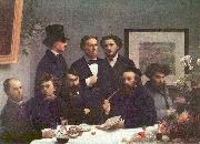 Henri Fantin-Latour Around the Table china oil painting reproduction