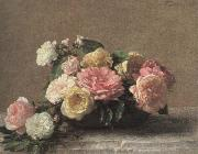 Henri Fantin-Latour roses in a dish china oil painting reproduction