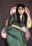 Henri Matisse Green woman china oil painting reproduction