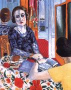 Henri Matisse Baroness portrait china oil painting reproduction
