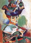 Henri Matisse Hat woman china oil painting reproduction
