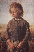 Ilia Efimovich Repin Poor little girl Uygur Li china oil painting reproduction