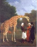 Jacques-Laurent Agasse The Nubian Giraffe china oil painting reproduction