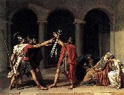 Jacques-Louis David Oath of the Horatii china oil painting reproduction