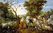 Jan Brueghel The Elder The Entry of the Animals Into Noah Ark china oil painting reproduction