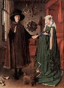 Jan Van Eyck The Arnolfini Portrait china oil painting reproduction