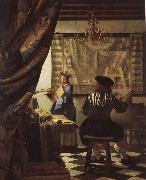 Jan Vermeer The moral of painting china oil painting reproduction