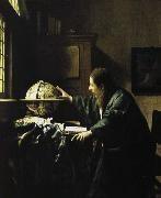 Jan Vermeer astronimen china oil painting reproduction