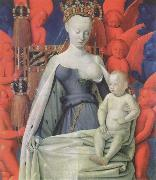 Jean Fouquet The melun Madonna china oil painting reproduction