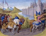 Jean Fouquet Arrival of the crusaders at Constantinople china oil painting reproduction