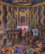 Jean Fouquet Pompey in the Temple of Jerusalem, by Jean Fouquet china oil painting reproduction