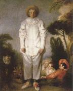 Jean-Antoine Watteau gilles china oil painting reproduction