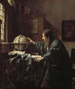 Johannes Vermeer Astronomers china oil painting reproduction
