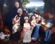John Singleton Copley Portrait of the Copley family china oil painting reproduction