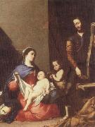 Jusepe de Ribera The Holy family china oil painting reproduction