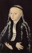 Lucas Cranach Madeleine Luther portrait china oil painting reproduction