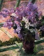 Mary Cassatt Lilacs in a Window china oil painting reproduction