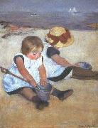 Mary Cassatt Children on the Beach china oil painting reproduction