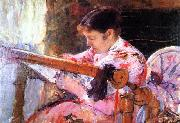 Mary Cassatt Lydia at the Tapestry Loom china oil painting reproduction