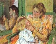 Mary Cassatt Mother Combing her Child Hair china oil painting reproduction