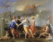 Nicolas Poussin a dance to the music of time china oil painting reproduction