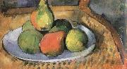 Paul Cezanne pears on a chair china oil painting reproduction